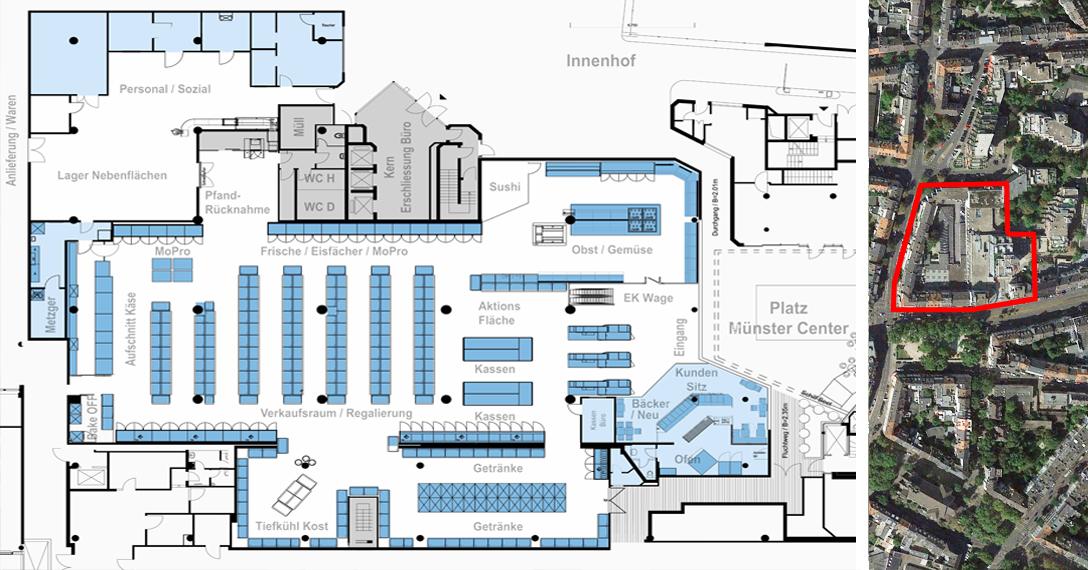 Rewe Center Düsseldorf